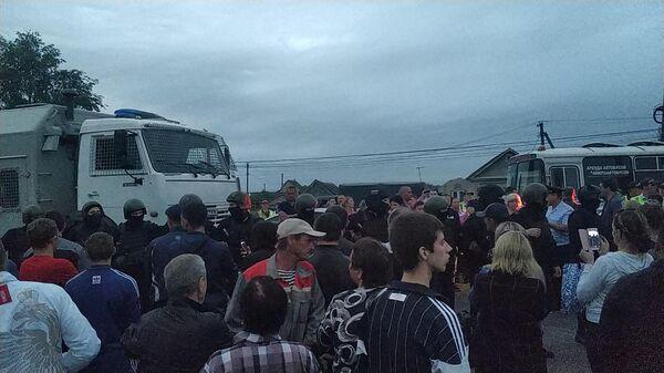 Ситуация на народном сходе в селе Чемодановка Пензенской области. 14 июня 2019