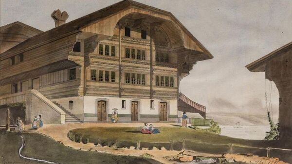 Первая картина художника Поля Гогена, написанная в 1865 году