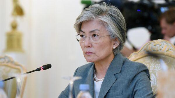 Министр иностранных дел Республики Корея Кан Ген Хва