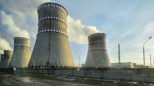 Ровенская атомная электростанция в Кузнецовске, Украина