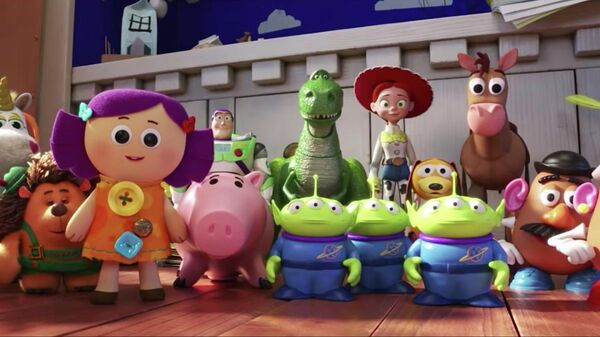Кадр из мультфильма История игрушек 4