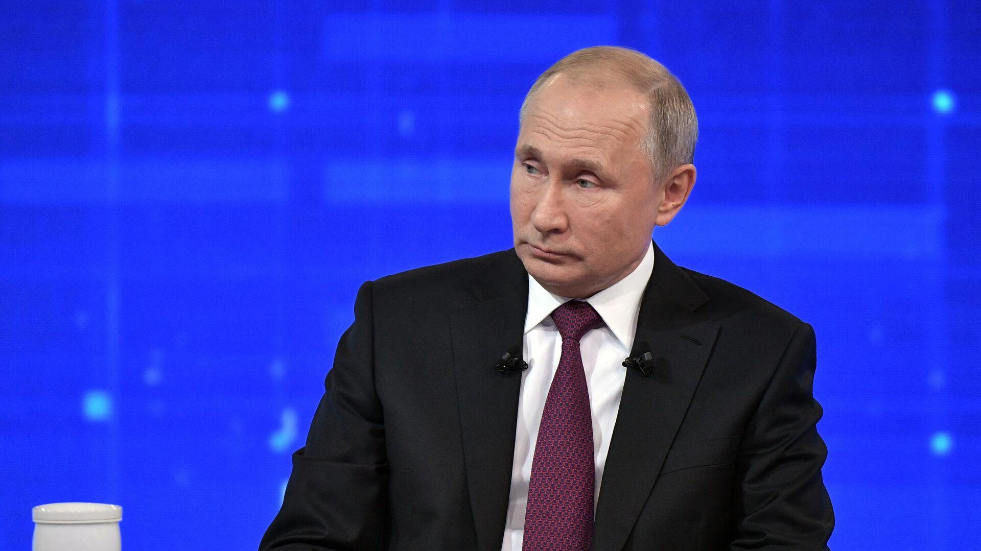 Прямая линия с президентом РФ Владимиром Путиным - РИА Новости, 1920, 29.06.2021