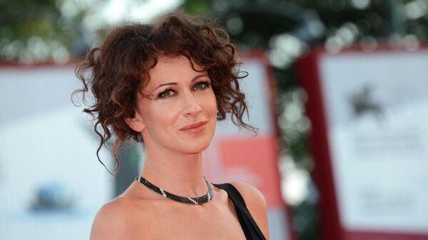Актриса Ксения Раппопорт на Венецианском международном кинофестивале