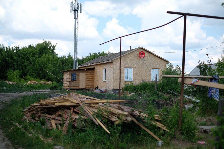 Дом, около которого начался конфликт