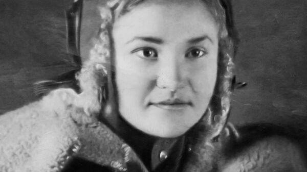 штурман Галина Брок, фотография из личного архива войны Галины Брок-Бельцовой
