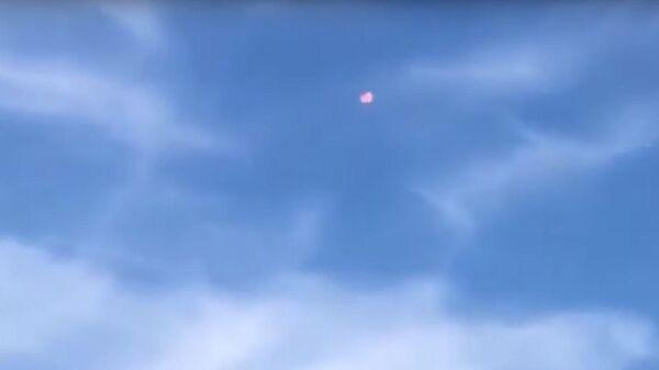 Смертельное столкновение двух немецких истребителей попало на видео
