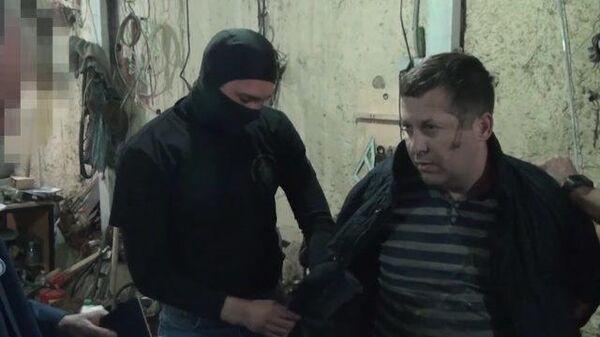 Кадры задержания гражданина Польши, осужденного за шпионаж