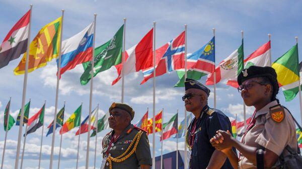 Участники на Международном военно-техническом форуме Армия-2019 в КВЦ Патриот