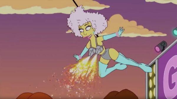 Леди Гага в мультсериале Симпсоны