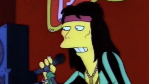 Стивен Тайлер в мультсериале Симпсоны