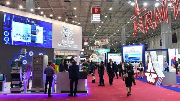 Стенд концерна ВКО Алмаз-Антей на международном военно-техническом форуме Армия-2019