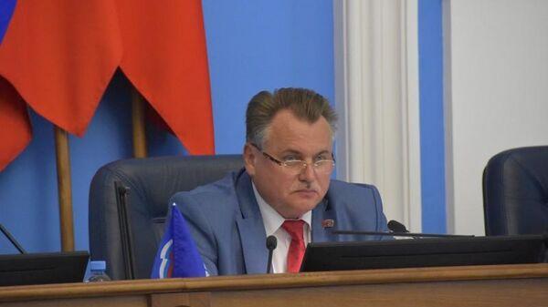 Председатель пермской городской думы Юрий Уткин
