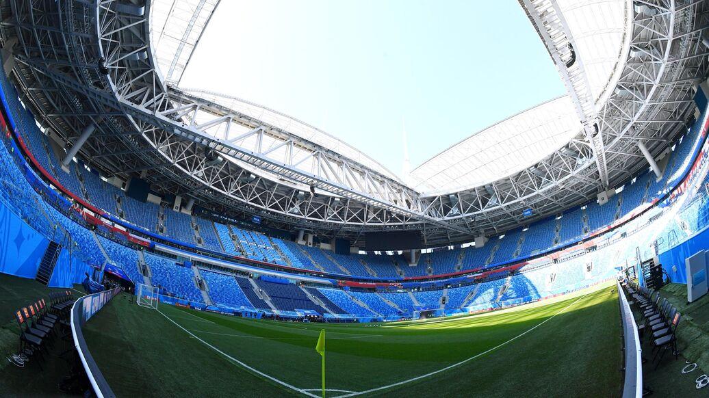 Крыша стадиона боруссия