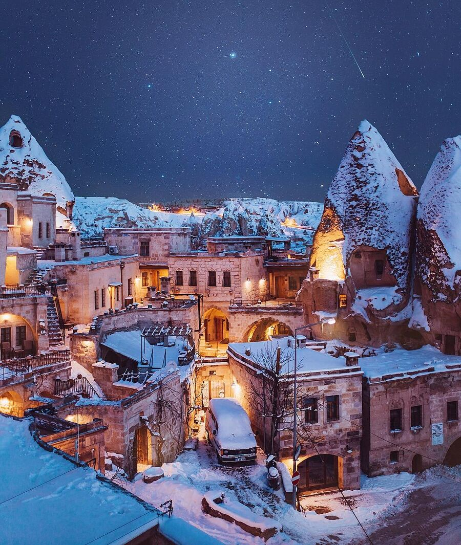 Город Гареме, Каппадокия, Турция