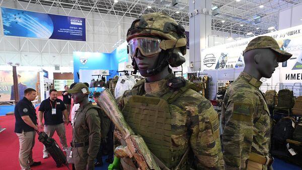 Образцы защитной экипировки на Международном военно-техническом форуме Армия-2019