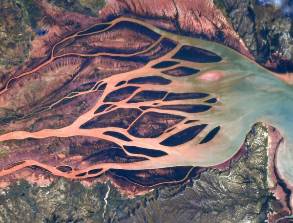 Устья рек на севере Мадагаскара