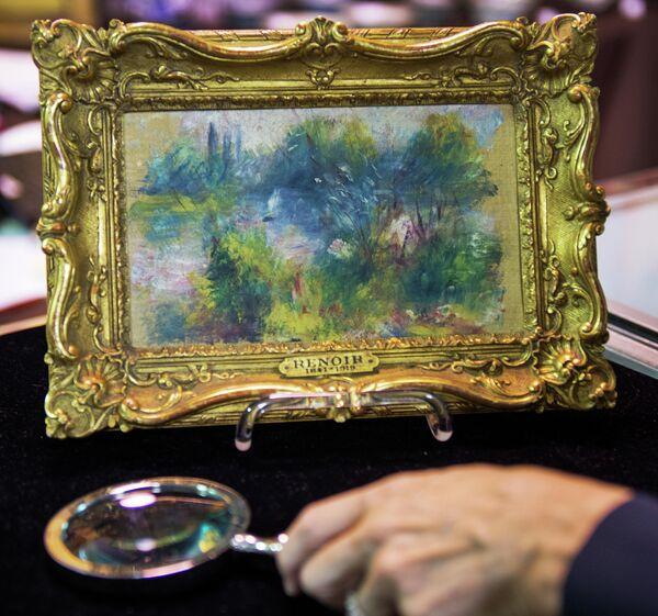Картина Огюста Ренуара Пейзаж на берегу Сены