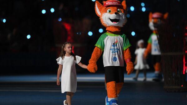 Талисман II Европейских игр 2019 года Лисенок Лесик