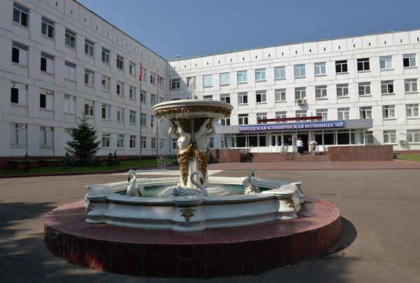 С.Собянин посетил городскую больницу № 3 в Москве