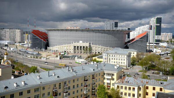 Вид на стадион Екатеринбург Арена