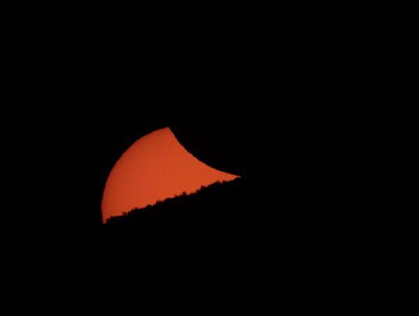 Солнечное затмение. 2 июля 2019 года