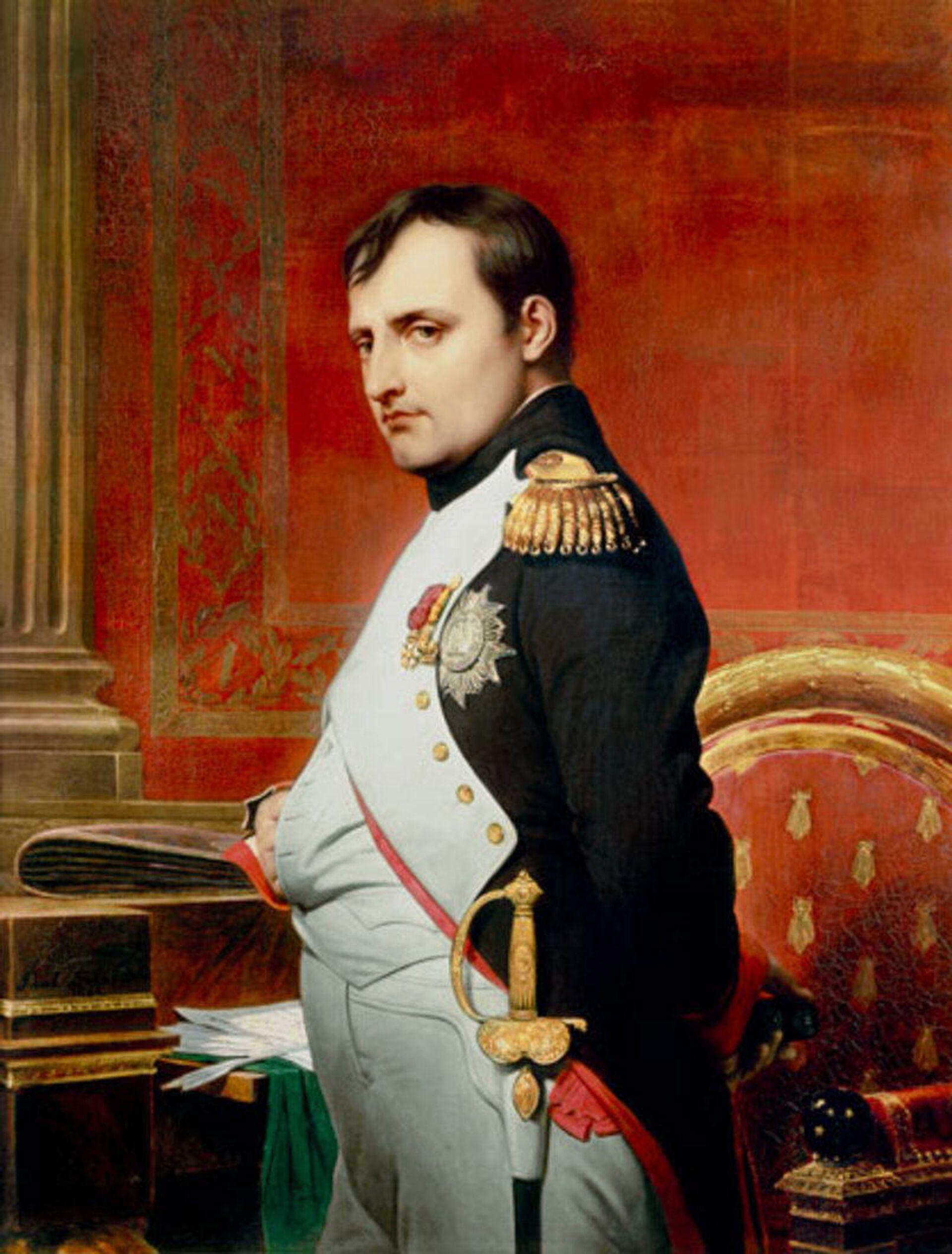 Наполеон I Бонапарт, портрет кисти Поля Делароша (1807) - РИА Новости, 1920, 16.10.2020