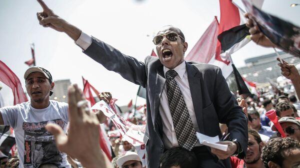 Противники президента Моххамеда Мурси на площади Тахрир