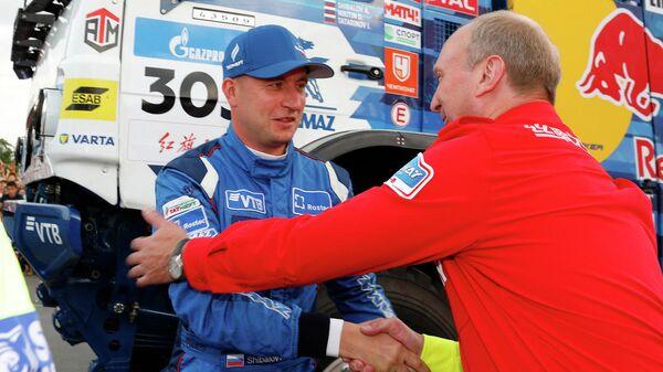 Антон Шибалов (слева) и Владимир Чагин