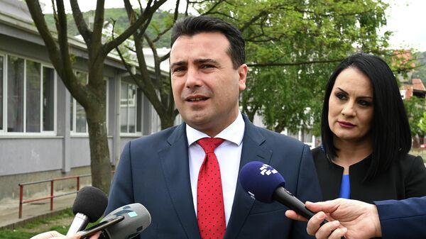 Премьер Северной Македонии Зоран Заев