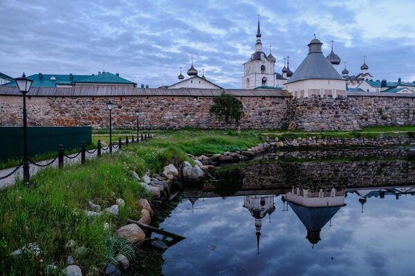 Стены Соловецкого Кремля