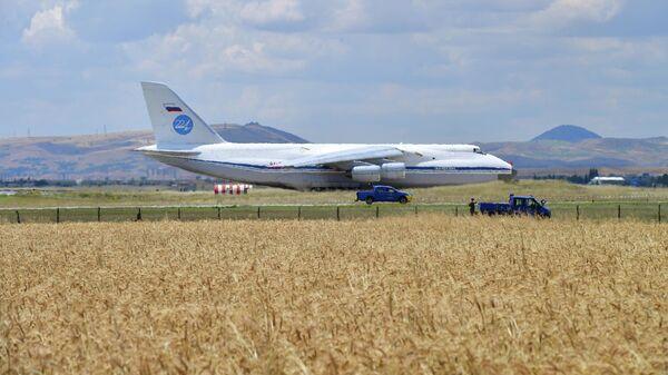 МинобороныРФ опубликовало кадры доставки компонентов С-400 вТурцию