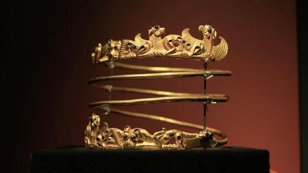 Экспонат выставки Крым: золото и секреты Черного моря в Амстердаме