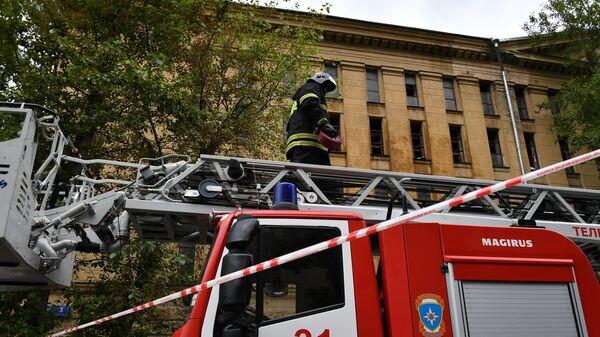 На Выборгской улице в Москве восстановили движение после пожара в РГАЛИ