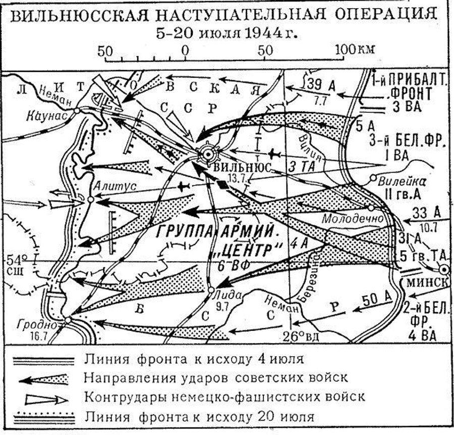 Вильнюсская наступательная операция