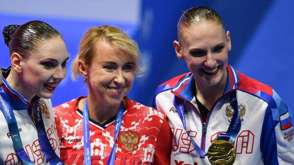 Светлана Колесниченко, Татьяна Данченко и Светлана Ромашина