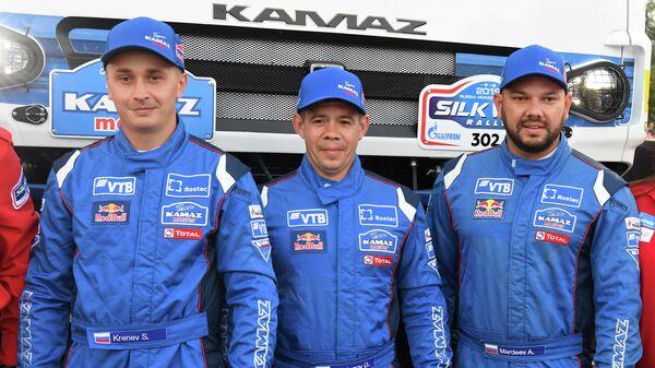 Сергей Кренев, Дмитрий Свистунов и Айрат Мардеев (слева направо)
