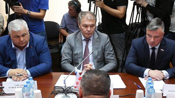 Встреча депутатов Госдумы РФ с делегацией из Грузии. 15 июля 2019