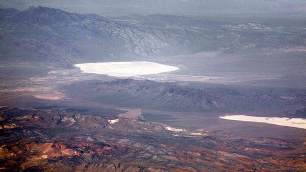 Окрестности военной базы Зона 51 в США