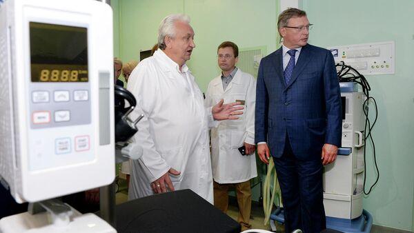 В Омске ввели в строй долгострой хирургического корпуса горбольницы