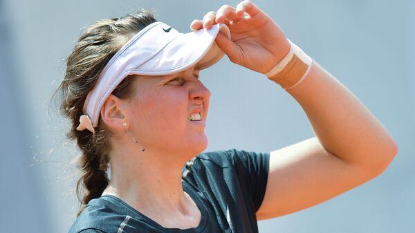 Самсонова проиграла во втором круге турнира в Лозанне