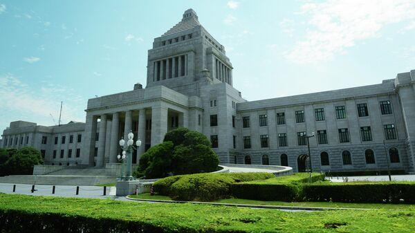 Здание Парламента Японии в Токио