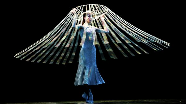 Диана Вишнева в проекте Красота в движении