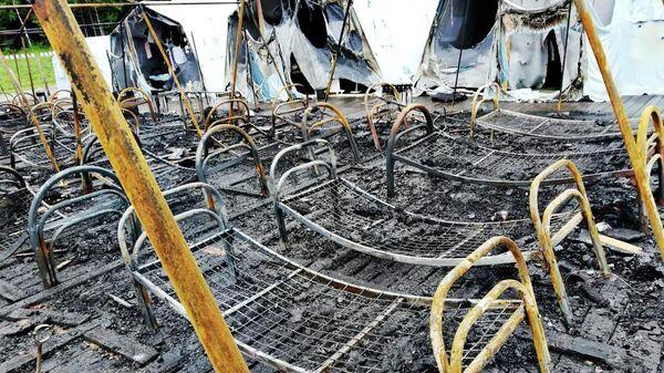 Пожар в Хабаровском крае
