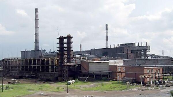 Химическое предприятие в городе Усолье-Сибирское Усольехимпром