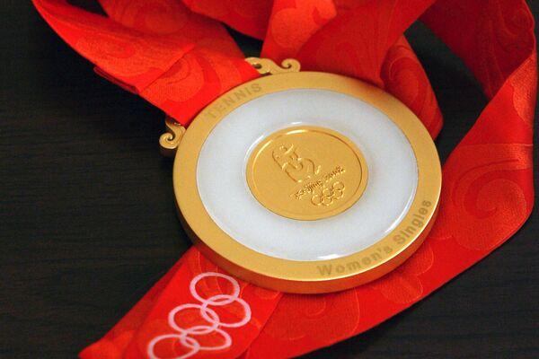 Золотая медаль Летних Олимпийских игр в Пекине