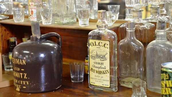 Старые бутылки