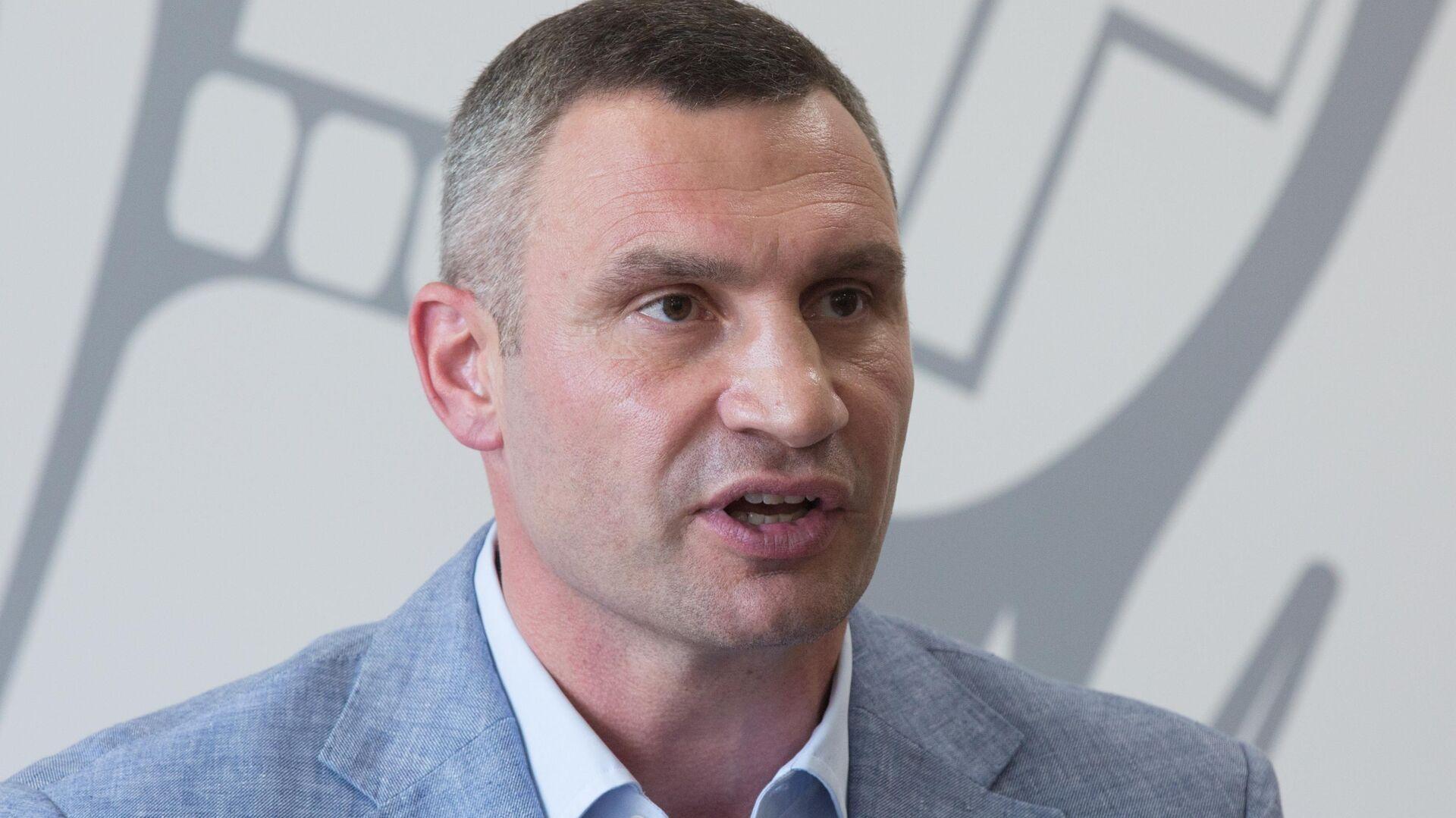 Кличко заявил о нецивилизованных методах на акции у офиса Зеленского