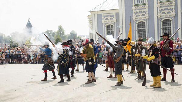 Фестиваль клубов военно-исторической реконструкции Кремли России