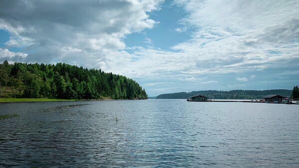 Карелия. Ладожское озеро.