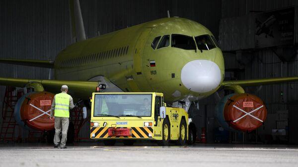 Производство самолетов Sukhoi Superjet 100 в Комсомольске-на-Амуре